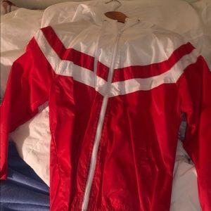 Bomber Zip Up Jacket (Hoodie)